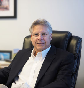 A picture of NLR's president Ray Graczyk. He has more than two decades in the business of recycling universal waste.